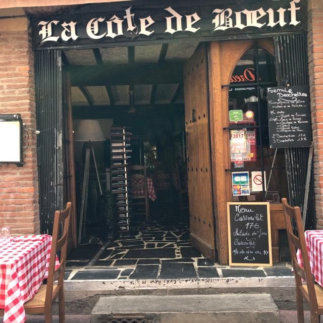 restaurant-la-cote-de-boeuf-toulouse-façade