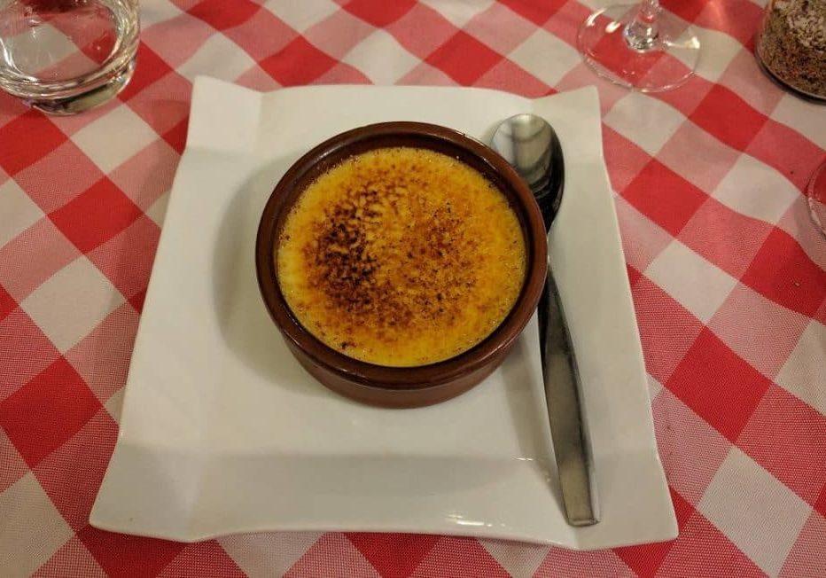 La Côte de Boeuf - Crème Brûlée